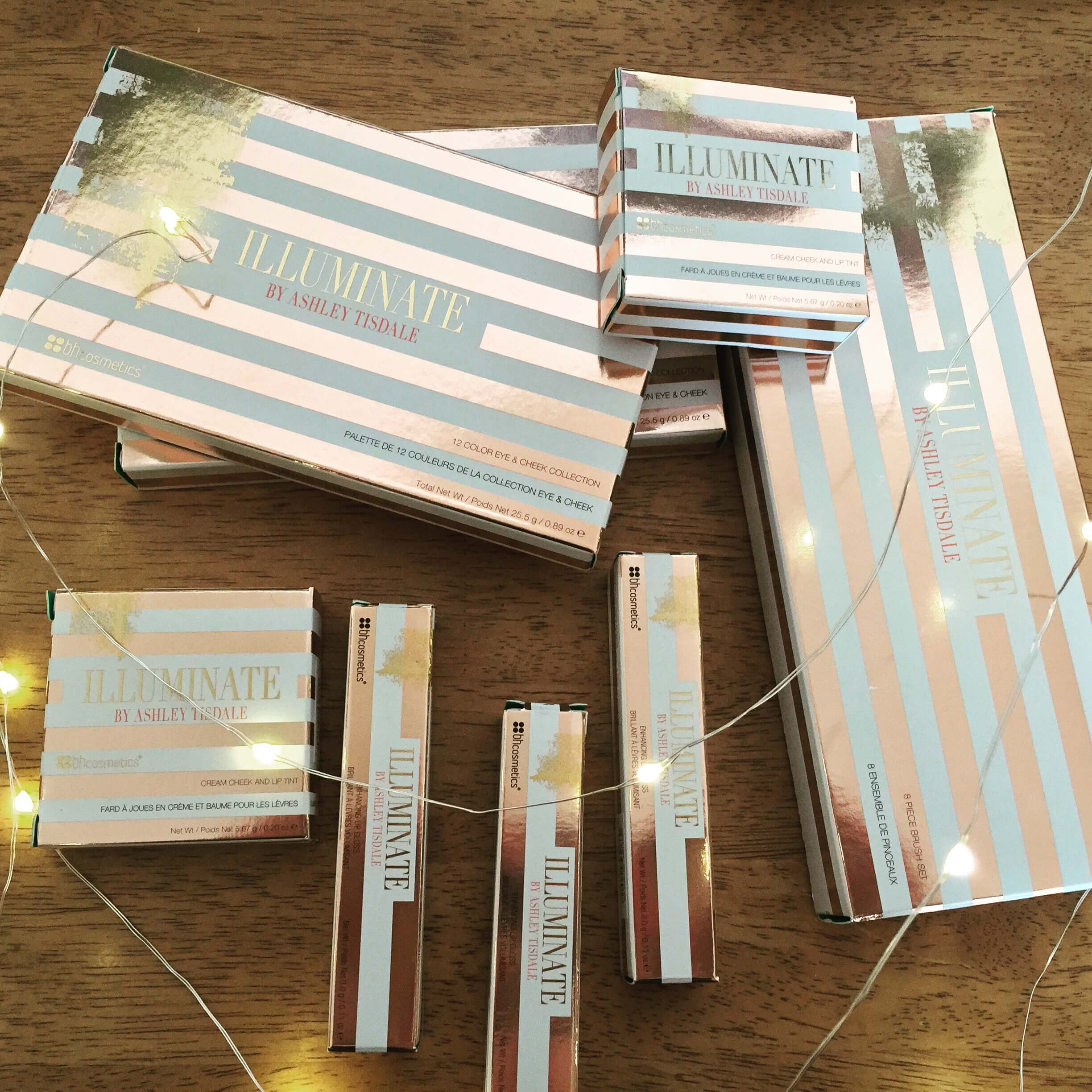 Illuminate By Ashley Tisdale BH Cosmetics Packaging