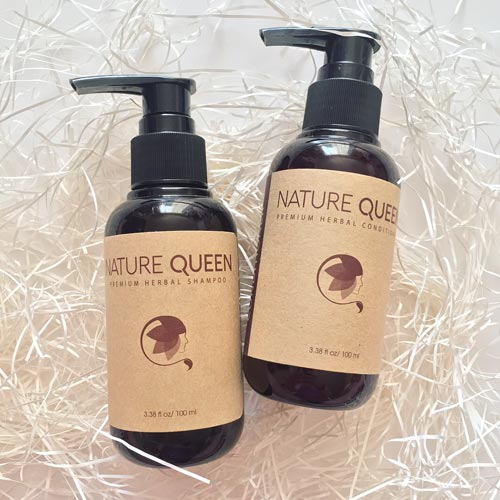 Nature Queen Herbal Shampoo Review - Clean & Cruelty-Free