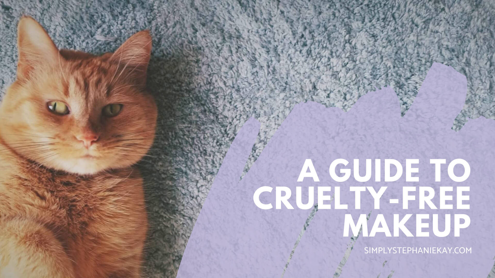 a beginner's guide to cruelty-free makeup and skincare