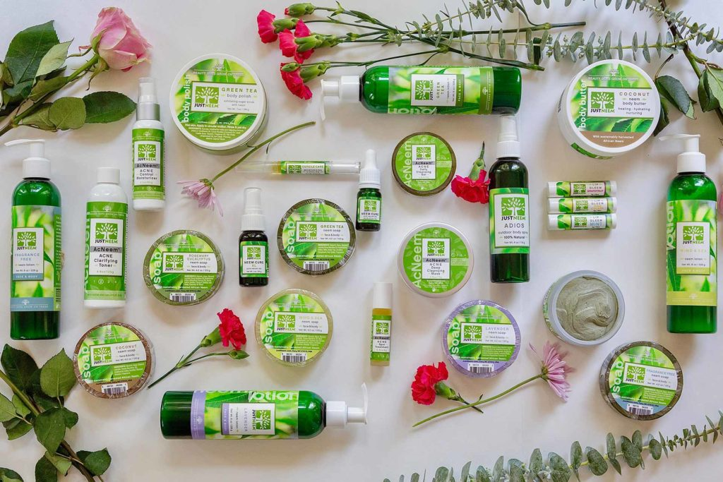 Just Neem Products Clean and Cruelty-Free