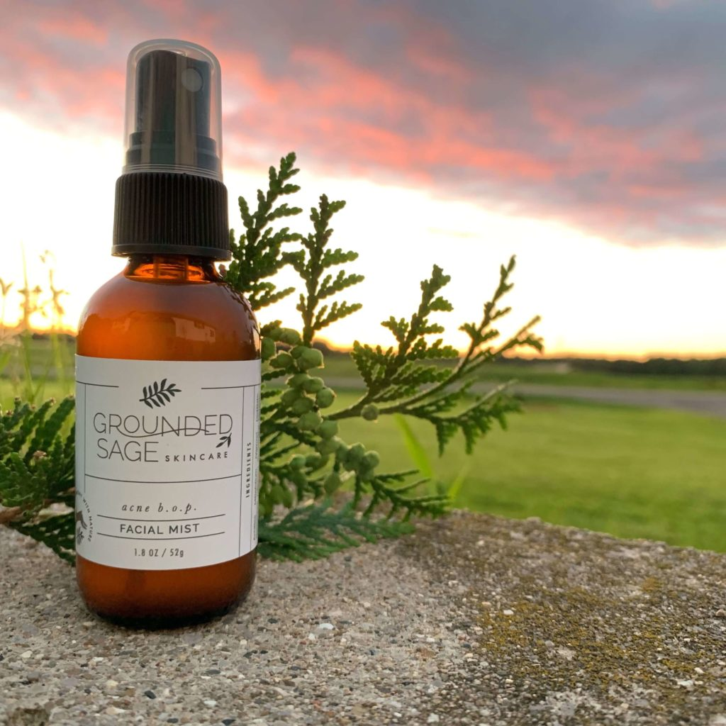 Grounded Sage Facial Mist in Sunset