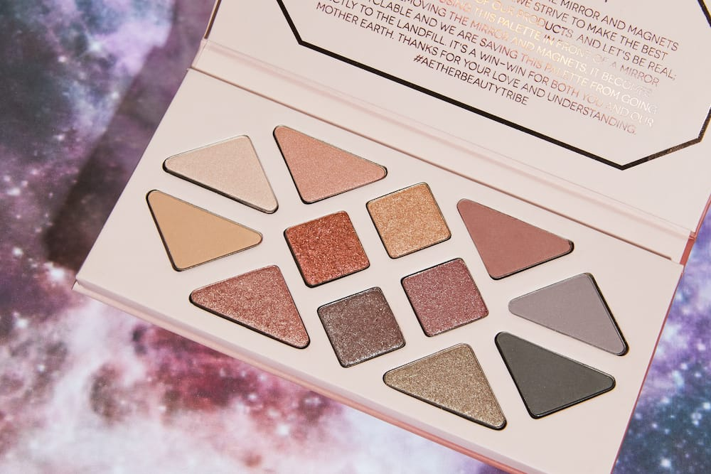 Aether Beauty Rose Quartz Eyeshadow Palette